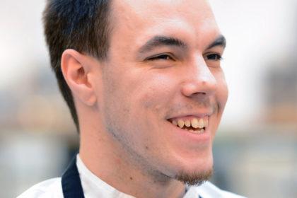 Patrick Groß macht eine Ausbildung zum Koch im Hotel Bielefelder Hof